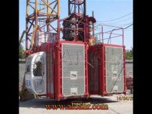 Construction Hoist SC100 with Single Cage