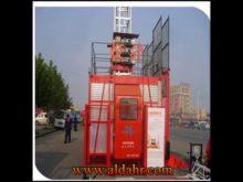 Construction Hoist Single Cage 2X2000kg