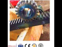Construction Hoist Spare Parts Custom Gear Rack And Pinion Gear Stainless Steel Gear Rack