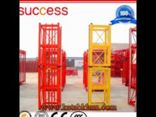 Construction Hoist Using for Lifting Materials