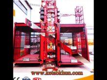 Construction Skip Hoist Concrete Mix Plant Equipment