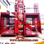 Construction Tower Crane Hot Sale 2017 New 2 Cages
