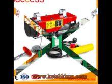 Construction Ues! Electric Hoist 200kg