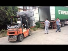 container loading