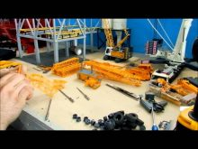 Crane Repaint Tutorial pt.3.3 (Liebherr Ltm1300 tear down pt.3)