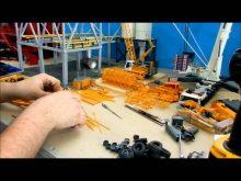 Crane repaint tutorial pt.3.4 (Liebherr Ltm1300 tear down pt.4)