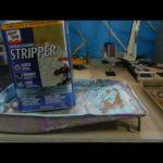 Crane Repaint Tutorial pt.5 (start of stripping paint)