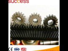 Custom Low Price Cylindrical Helical Teeth Alloy Steel Racks
