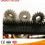 Custom Machining Small C45 Steel Gear Rack And Pinion