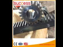 Custom Made Industrial Helical Gear Racks And Pinions