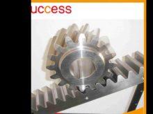 Custom Pinion Gears Ring & Crown Gear Wheels / Stainless Steel Teething Ring