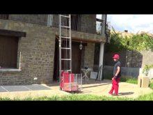 Dachdeckeraufzug Bauaufzug