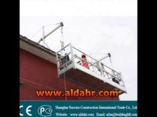 definition of a suspended platform