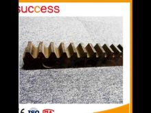 Different Material High Precision Rack And Pinion