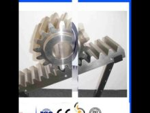 Different Modulus Different Sizes Oem Odm Surface Treatted Racks And Pinions