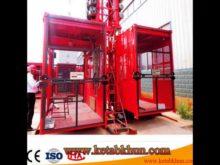 Double Cage Sc200/200f Construction Passenger Hoist