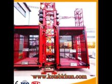 Double Cages Construction Lifter,Telescopic Lifters,Construction Elevator