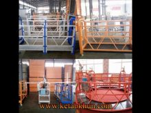 Easy Installation Steel Cable Suspended Platform