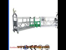 Easy To Move Foot Pedal Suspended Platform