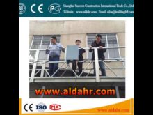 Easy To Move iso ce gost zlp 800 construction suspended platform