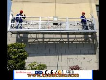 Easy To Move Suspended Platform For Paint Coatings