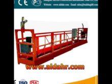 Electric Cradle Hanging Work Platform/High Rise Hoist Suspended Platform