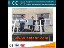 electric cradle/suspended platform/gondola for window cleaning machine
