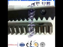 Electric Gear Differential Gear Rack/ Cnc Router Machinesused Helical Gear Transmission Parts