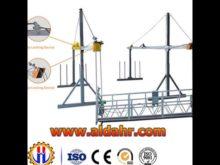 electric hoist for suspended platform
