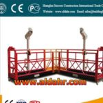 Electric mobile aerial Suspended platform for wooden house