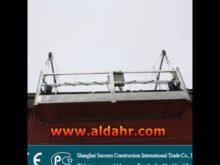 electric suspended cradle system building steel floor suspended platform
