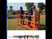 Electric Swing Stage With 8 3mm Steel Wire Rope