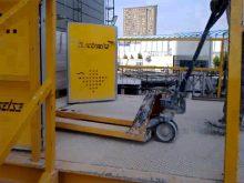 Elevador de obra EHPM2500-35 carga de material NR18