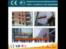 Excellent Quality 7 5m length hoist suspended platform Manufacturer