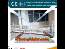 Exceptional Quality 1000kg hoist suspended platform Factory