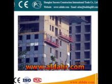 Exceptional Quality 8 3mm steel wire rope Hanging suspended platform by rail