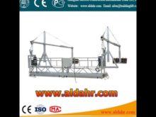 Exceptional Quality 9 3mm steel wire rope Hanging suspended platform by rail