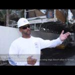 Experience of using Scanclimber SC5000 mast climbers at 250 ft condominium restoration project