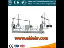 facade cleaning equipment 5m length hoist suspended platform Factory