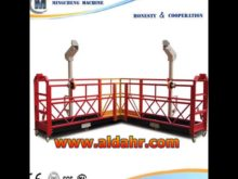 Factory price cradle/gondola/suspended platform/working platform zlp630 zlp800