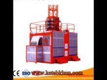 Factory Price Sc100/100 Building Hoist Machinery