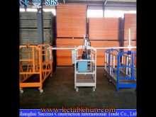 Factory Price Zlp630 Suspended Working Platform