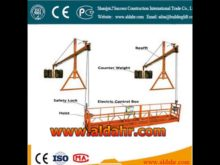 Factory Supply Steel Material hoist suspended platform Factory