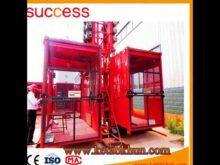 Famous Motor Brand 1t One Cage Passenger Hoist/Construction Passenger Hoist