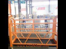 Fan Type Cradle,Steel Suspended Platform,Zlp500