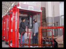 Flat Top Tower Crane For Construction ,Rack And Pinion Hoist