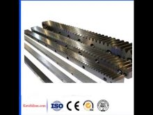 Flexible Gear Rack And Pinion