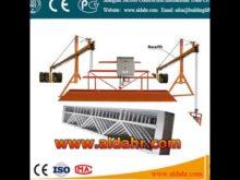 floating scaffold 9 3mm steel wire rope hoist suspended platform Factory