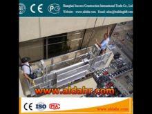 floating scaffold Steel Material hoist suspended platform Factory