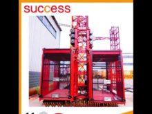 Floor Mounted Electric Hoist Tower Crane